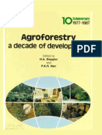 Agroforestry a Decade of Development (345)