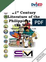 21st Century Literature_Q2_Module 1.3 FINAL