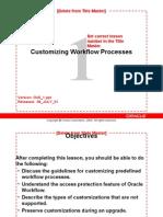 Customizing WF Process