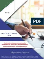 Certificacion 2021 primer semestre Chile
