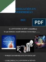 INV EN ENFERMERÍA Introducción al conocimiento científico