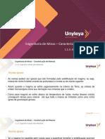 Caracterização de minerais 1.1.3- Aspectos gerais