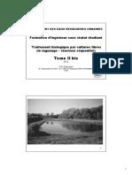 03-2-Traitement bio cultures libres-Lagunage-SBR