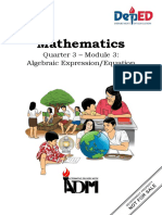 Math6 Q3M3 Algebraic Expression_Equation Ramirez LS