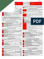 Emergency Check List Teachnam p2002jf