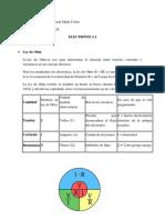 CALCULO DE RESISTENCIA, CORRIENTE Y VOLTAJE