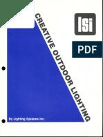 LSI Creative Outdoor Lighting Brochure 1981