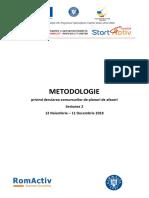 Metodologieprivindderulareaconcursurilordeplanurideafaceri