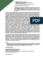 MODELO DE ESCRITO CONTRA ABOGADOS ESTAFADORES