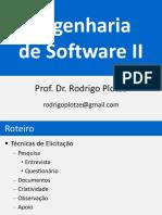 Engenharia de Software II - Técnicas de Elicitação