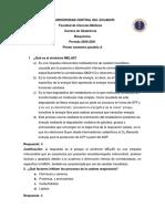 Cuestionario bioquímica