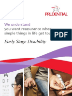 PRUearly Stage Disability