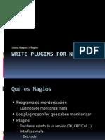 Escribir plugins para Nagios