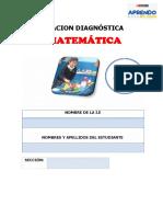 EVALUACION DIAGNOSTICA CUARTO GRADO 2021 (1)