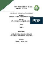 ACTIVIDAD - TOPICOS