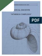 Manual Docente - Numeros Complejos