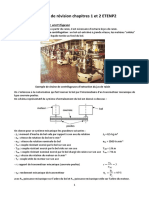 Exercices de révision chapitres 1 et 2 ETENP2