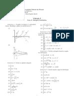 Calculus Exercises 1