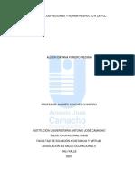 Conceptos, definiciones y norma respecto a la PCL.