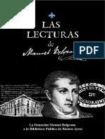 Las lecturas de Manuel Belgrano. La donación a la Biblioteca Pública de Buenos Ayres