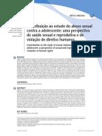 _Contribuição Ao Estudo Do Abuso Sexual Contra a Adolescente_ Uma Perspectiva de Saúde Sexual e Reprodutiva e de Violação de Direitos Humanos