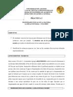 PRACTICA 2 PROPIEDADES FISICAS DE LA MATERIA ING ALIMENTOS