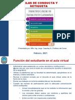 PPT Reglas de Conducta y Netiqueta