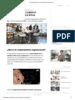 10 Características del Comportamiento Organizacional