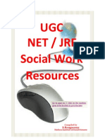 UGC NET JRF - Social Work Syllabus and Resource Links