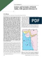 Tectonics of kutch basin