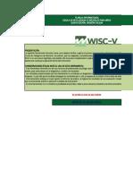 Planilla Informatizada WISC V