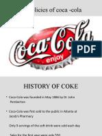 Hr policies of coca -cola