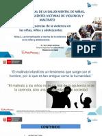 Tema 2 La normalización y teorías de la violencia en la niñez y adolescencia.Archivo