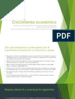 10 Crecimiento económico