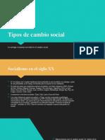 14 tipos de cambio social