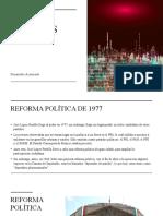 24 REFORMA POLÍTICA 1977
