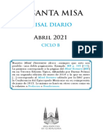 Misal Abril 2021