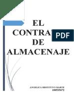 El Contrato de Almacenaje