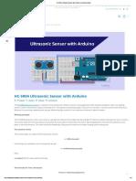 HC-SR04 Ultrasonic Sensor with Arduino _ _ FactoryForward