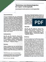 [14390477 - Journal of Laboratory Medicine] Die Diagnostische Bedeutung Neuroimmunologischer Reaktionsmuster Im Liquor Cerebrospinalis (1)
