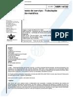 NBR - 14722-2001 - Tubulacao não metálica-pdf-fre