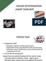 KONSEP Unit Gawat Darurat Dan Peran Perawat Gawat Darurat