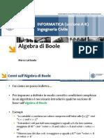 03 - Algebra Di Boole