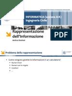 04 - Rappresentazione Dell'Informazione
