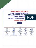 Protocole National SST Face à La Covid-19