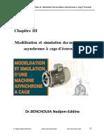 CHAP 3 Modélisation Et Simulation Des Machines Asynchrone à Cage