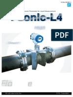 Multipath Ultrasonic Flowmeter for Custody Metering Package-converted