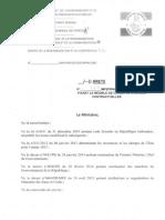 Article 105 cahier de charge
