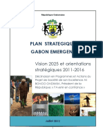 Plan Strategique Gabon Emergent