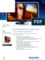 Philips 42pfl5405h caracteristicas